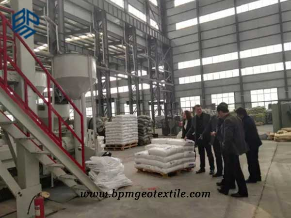 BPM nonwoven geotextile factory