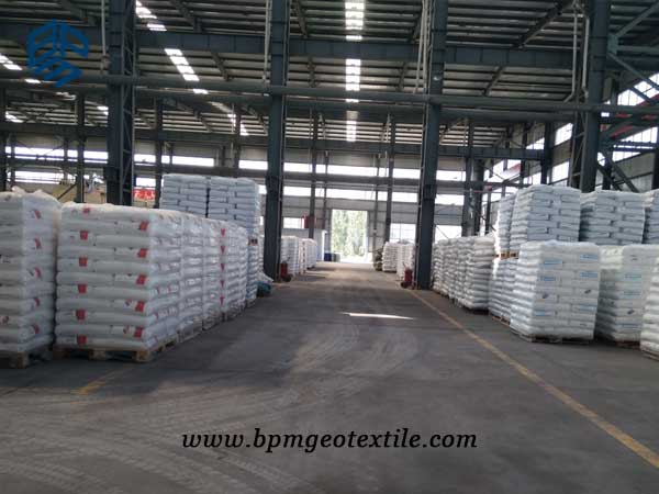 BPM pet woven geotextile material