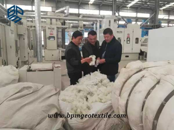 BPM woven geotextile material
