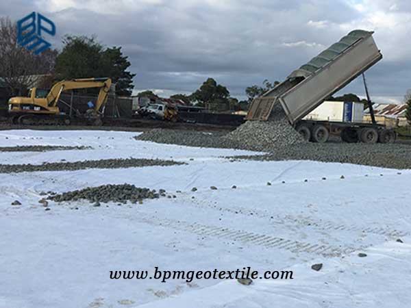 Company Profile - woven geotextile Application