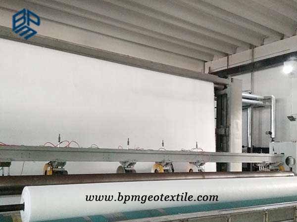 Filament Non Woven Geotextile Production