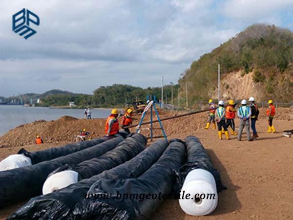 Filament Non Woven Geotextile for Port Construction