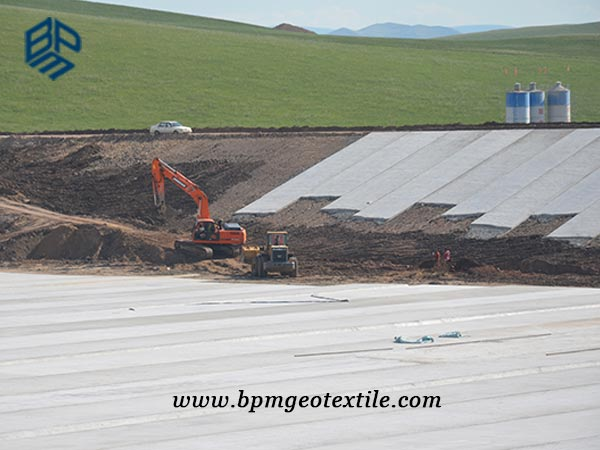 Needled Punched Geotextile for Embank Reinforcement