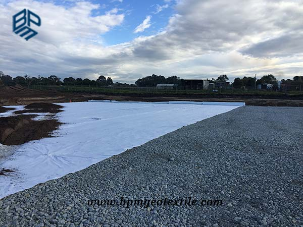Non Woven Filament Geotextile Road Construction