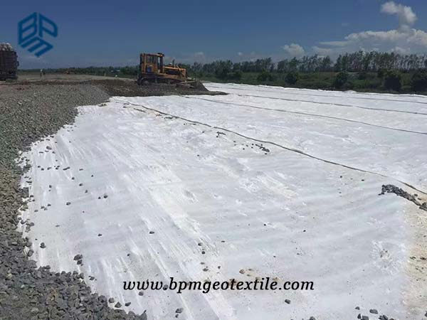 Pet Woven Geotextile Fabric Application