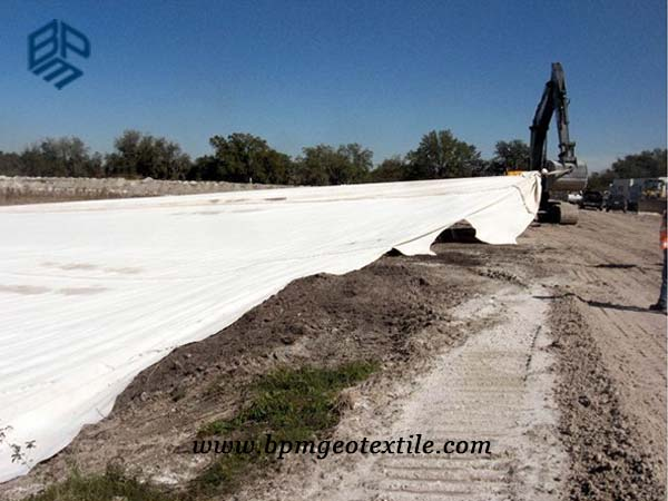 Pet Woven Geotextile Fabric for Road Construction