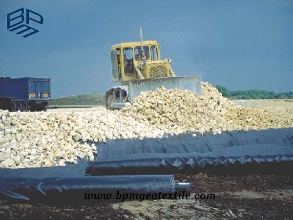 Polypropylene Woven Geotextile Fabric for Road Construction