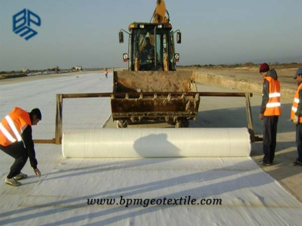 Polypropylene Woven Geotextile for Road Construction