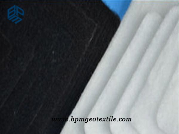 Short Fiber Needled Punched Non Woven Geotextile Fabric