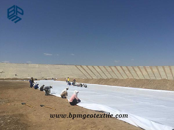 Short Staple Needled Punched Geotextile for Civil Engineering
