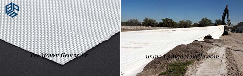 Polyester filament non woven geotextile