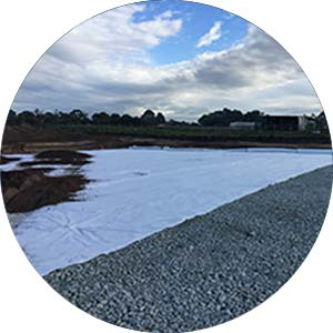 professional geotextile deployment