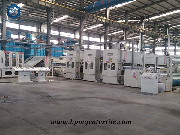Geotextile manufacturing factory