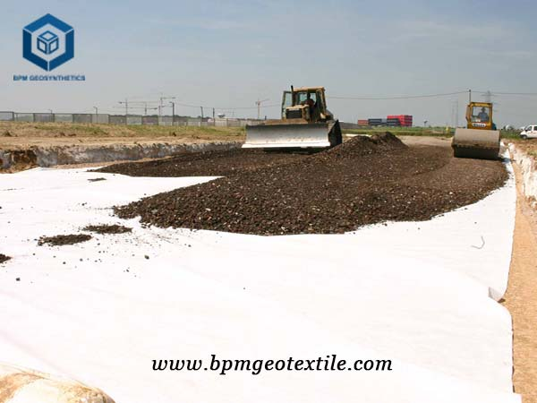 What is Geotextile application?