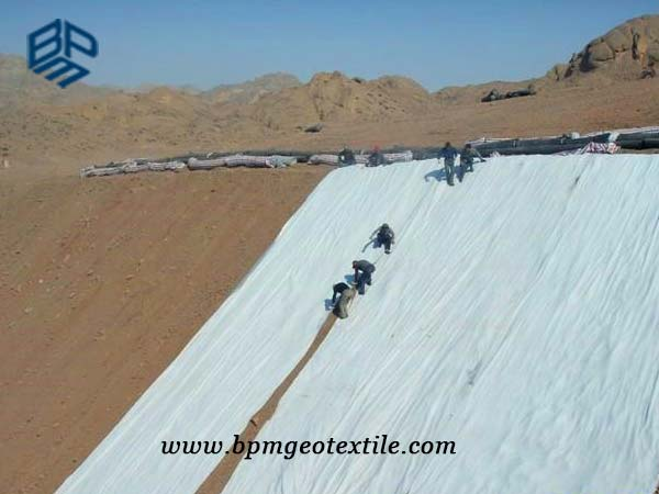 pet woven geotextile for road construction