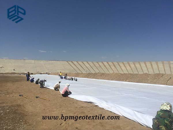 short fiber non woven geotextile for soil enforcement