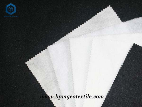How to use geotextile fabric-Short fiber non woven geo fabric