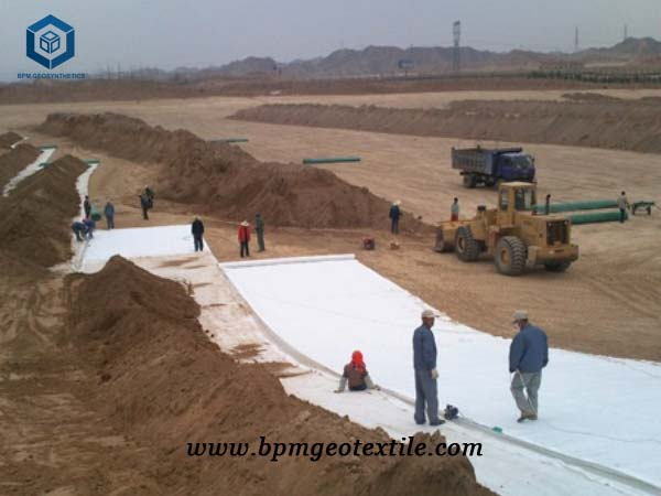 how to use geotextile about non woven geotextiles