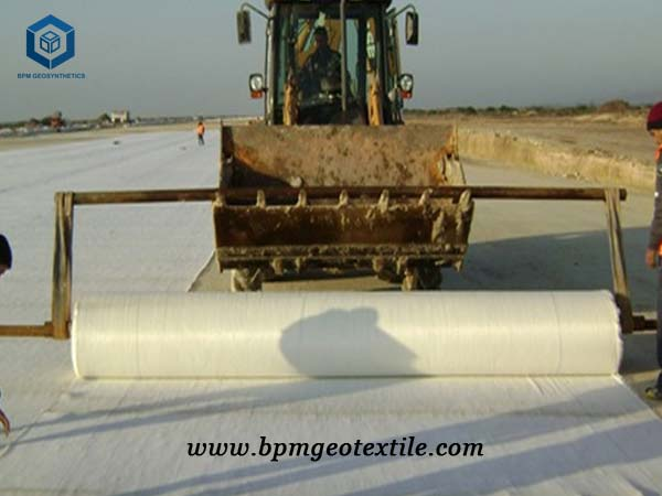 how to use geotextile about road construction