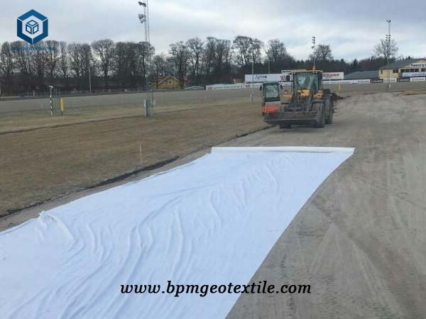 Nonwoven Geotextile Liner for Mine Tailing Pond Project in Philippines