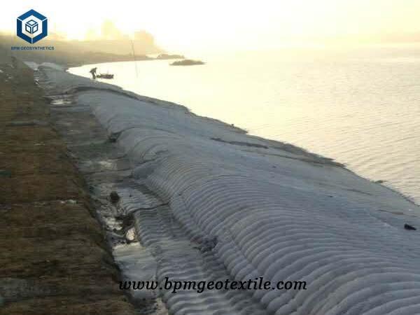 PP Geotextile for Flood Control Dam Construction