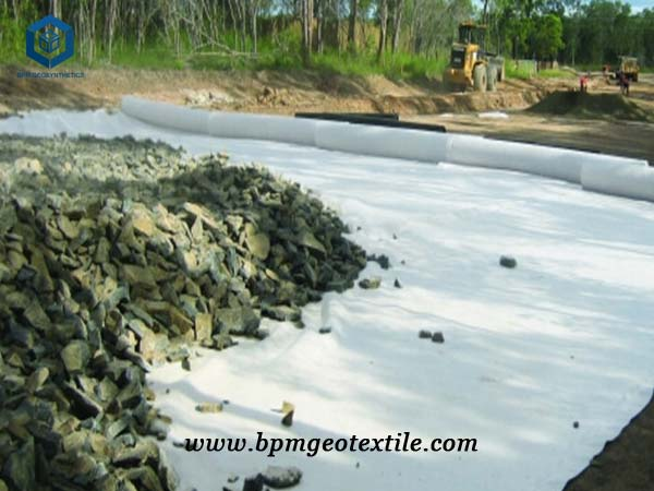 Road Filter Fabric for Construction project in Myanmar