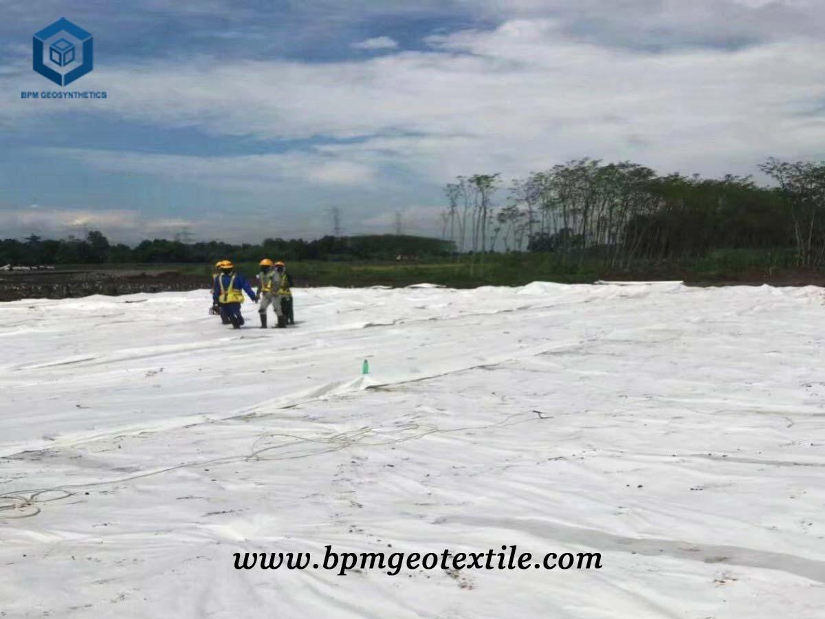 Geotextile Underlayment Fabric