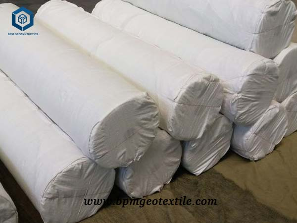 PET Woven Geotextile for Road Construction in Poland