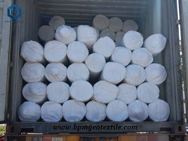 White Geotextile Fabric for Construction