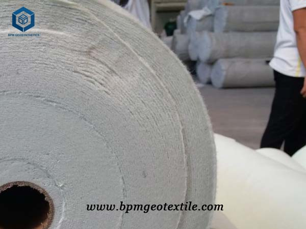 White Geotextile Fabric