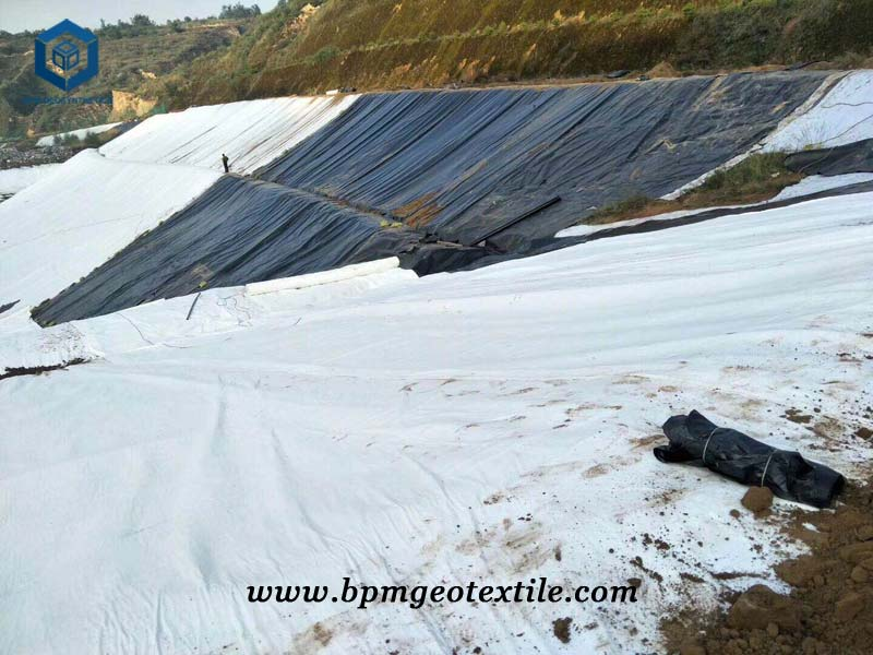 Geotex Fabric for Landfill Project in Malaysia