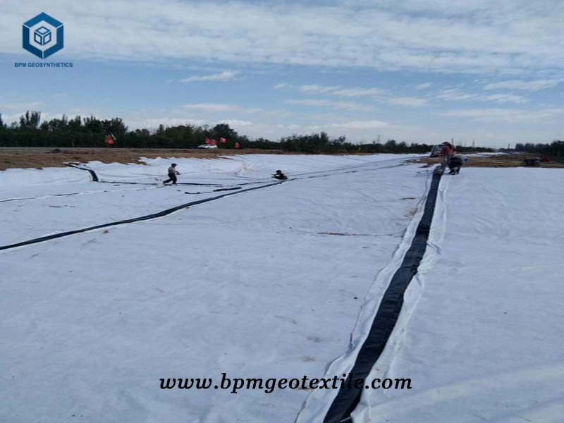Non Woven Needle Punched Geotextile for Expressway Construction Project in Fujian