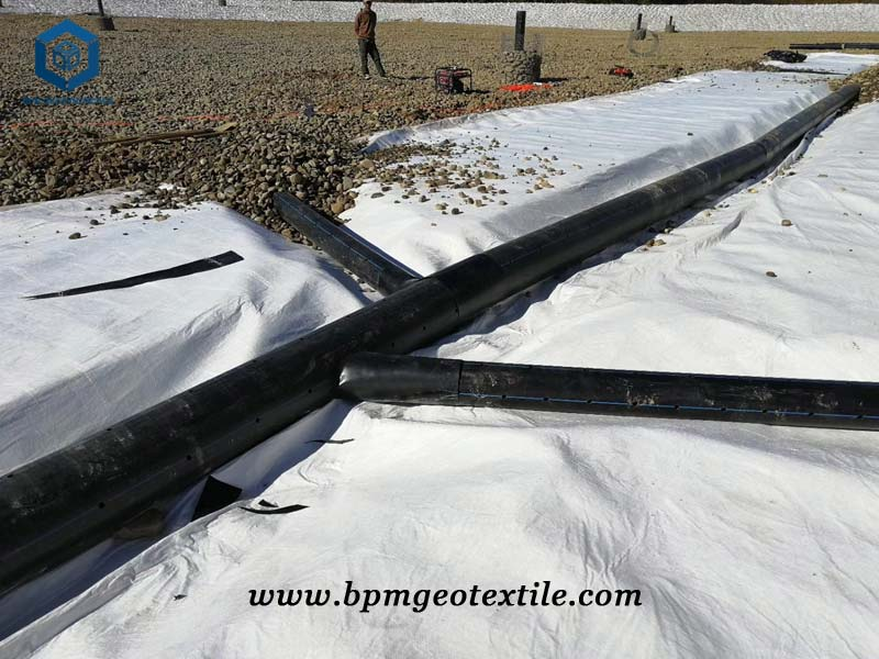 Non Woven Needle Punched Geotextile for Expressway Construction in Fujian