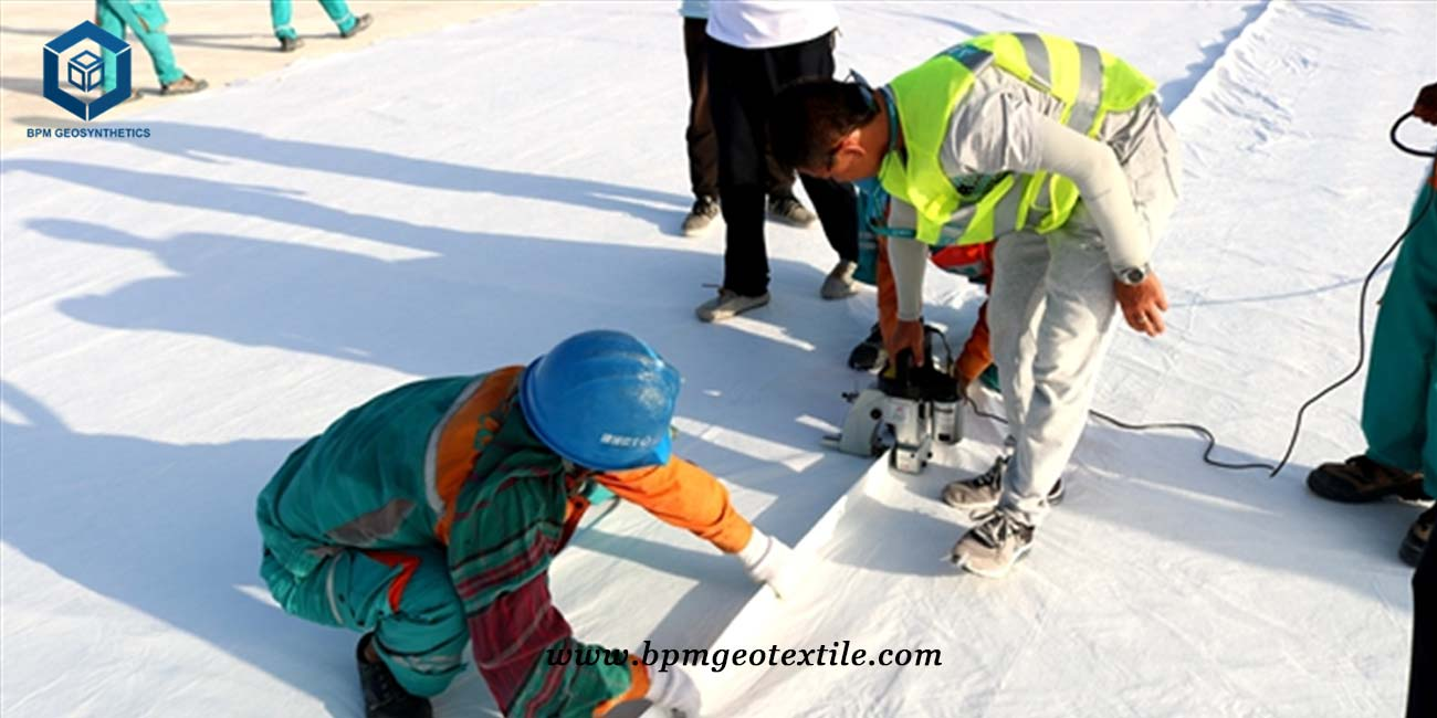 Nonwoven Geotextile Filter Fabric for Road Construction in Jiangsu