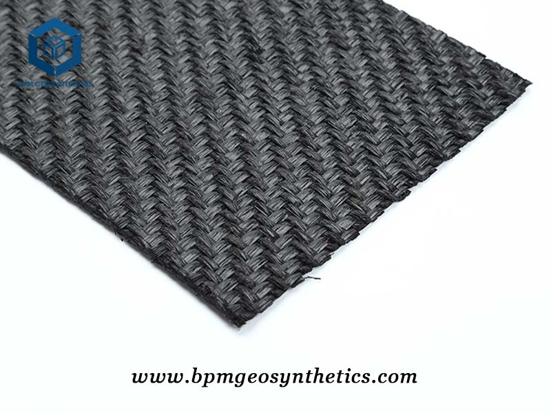PET Geotextile Woven Fabric for Highway Project in Indonesia