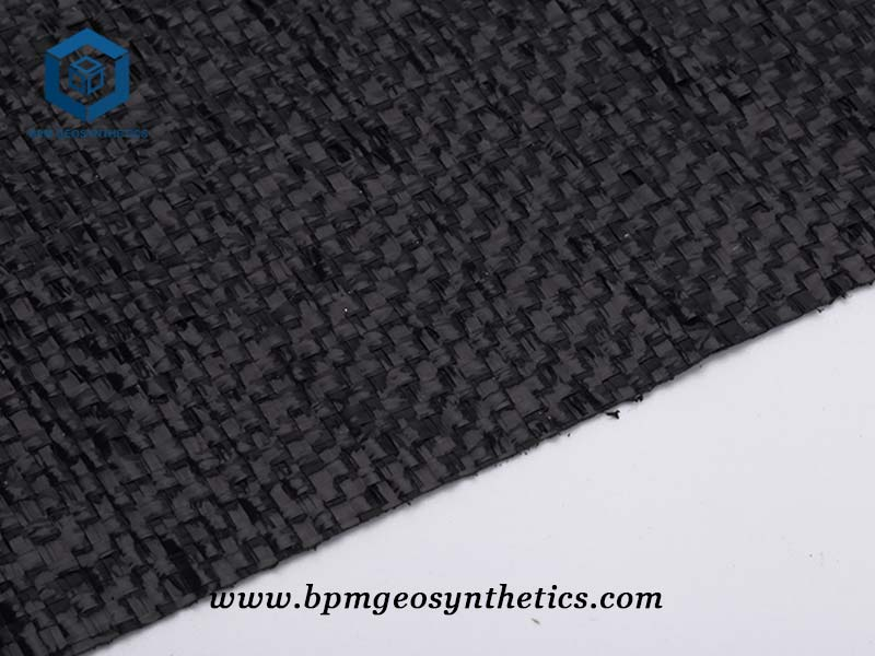PET Woven Geotextile Fabric for Highway Project in Indonesia