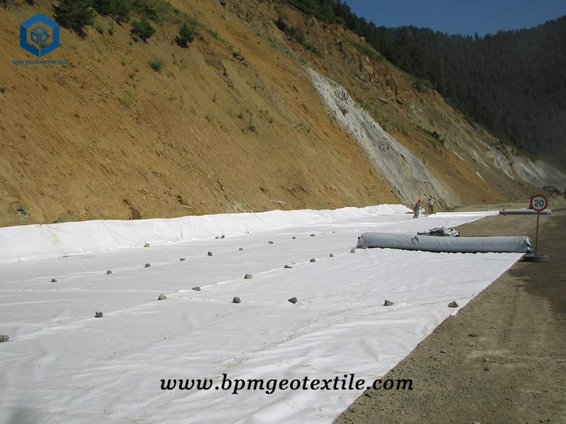PET Woven Stabilization Fabric for Road Embankment Reinforcement in Philippines