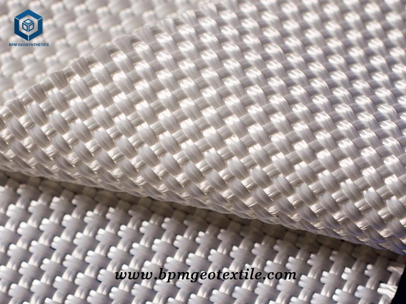 PET Woven Stabilization Fabric for Road Reinforcement in Philippines