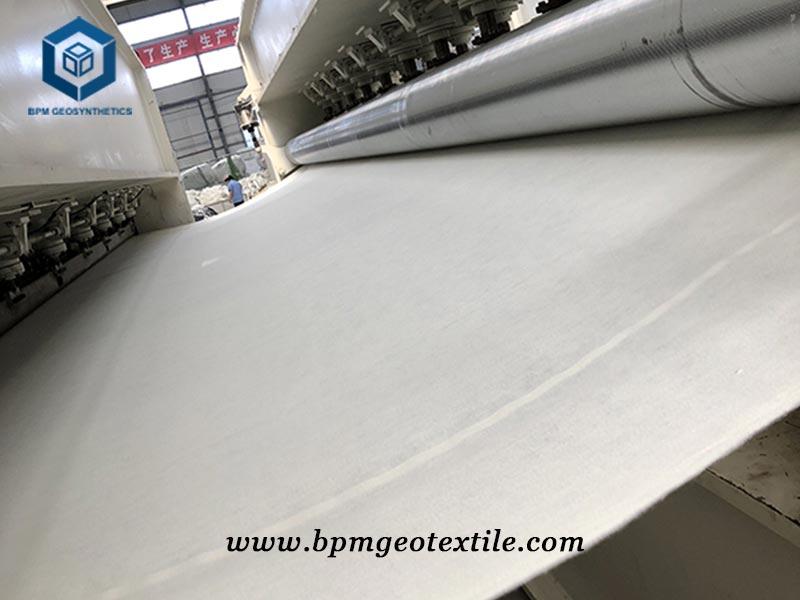 Short Geotextile Fiber for Road Construction in UAE