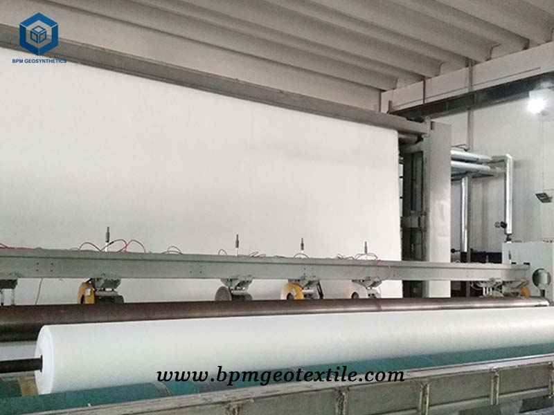 BPM geotextile production line