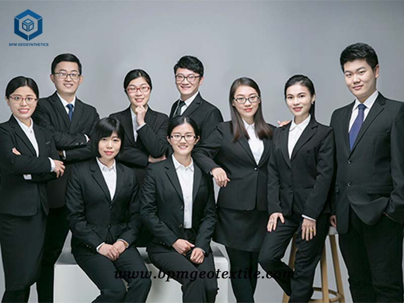 BPM geotextile sales team