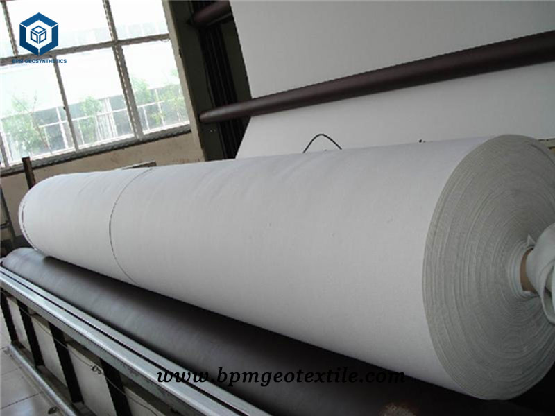 Non Woven Geotech Cloth Production for Highway Project in Thailand