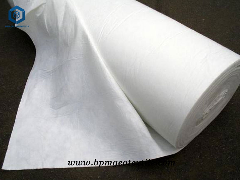 Nonwoven Film Geotextile for Embankment Project in Myanmar