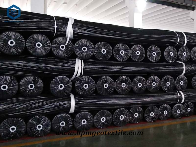 Nonwoven Geo Fabric for Mining project in Chile
