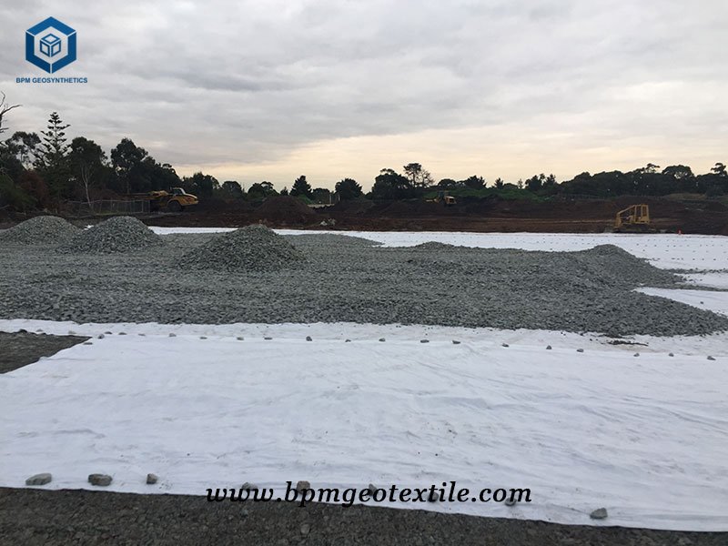 Nonwoven Geotech Cloth for Highway Project in Thailand