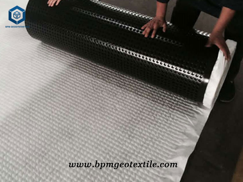 Geotextile Drainage Sheet for Garden Application in Sweden