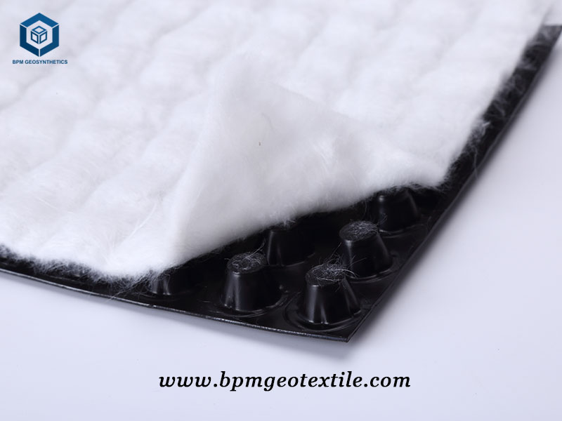 Geotextile Drainage Sheet for Garden in Sweden
