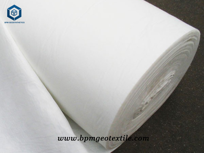 Geotextile Filtration Fabric for Landfill Project in Chile