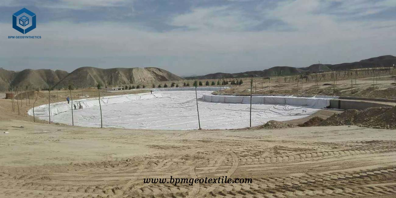 Non Woven Geotextile Filter Fabric for Landfill Project in Tanzania