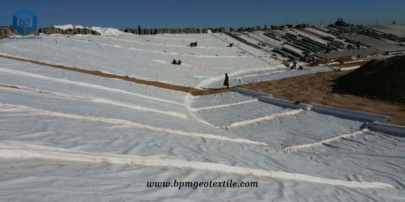 Non Woven Geotextile Filter Fabric for Landfill in Tanzania